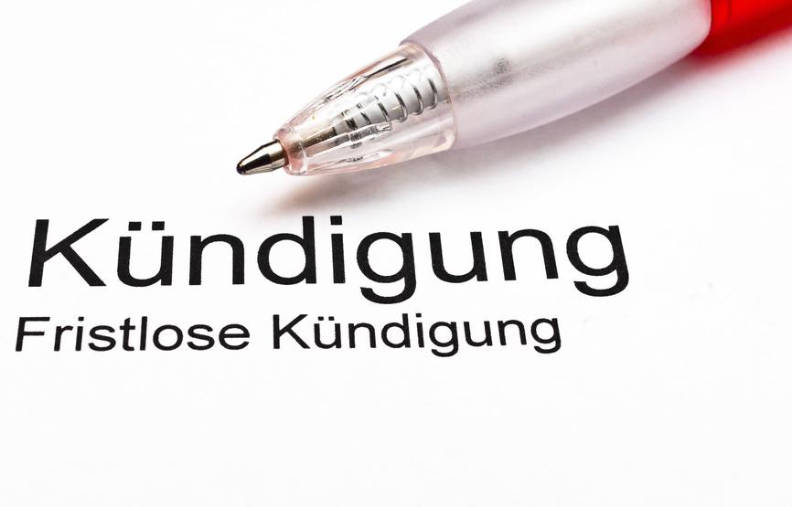 Berndt Fachanwaltskanzlei Für Arbeitsrecht Kündigung Fristlos